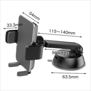 4971475280616 AQ. Smartphone holder Arm catch Sucker mounting type SH-03