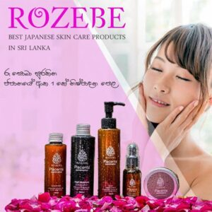 Rozebe Skin Products in Sri Lanka by Viron