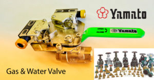 Gas & Water valve - 25 year warranty