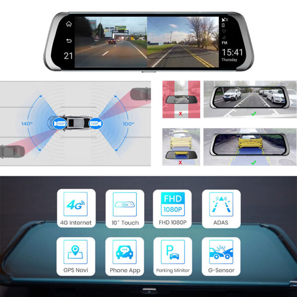 All in one Car DVR Option
